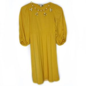 See By Chloe Dresses - See by Chloe Marigold Yellow Embellished Dress 4